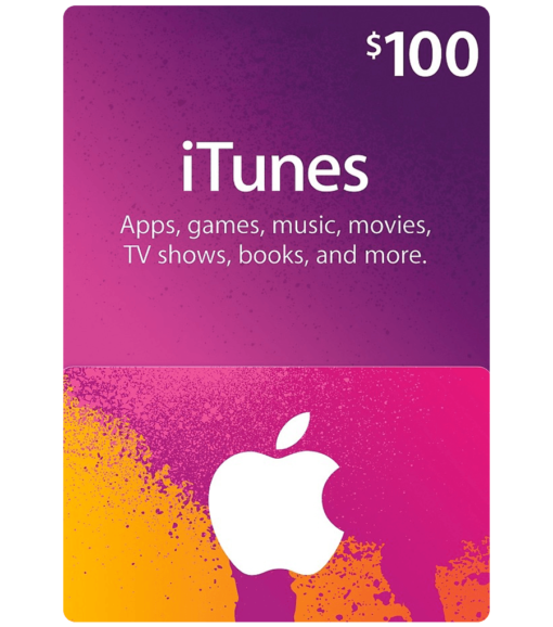 iTunes Gift Card $100 Product Image