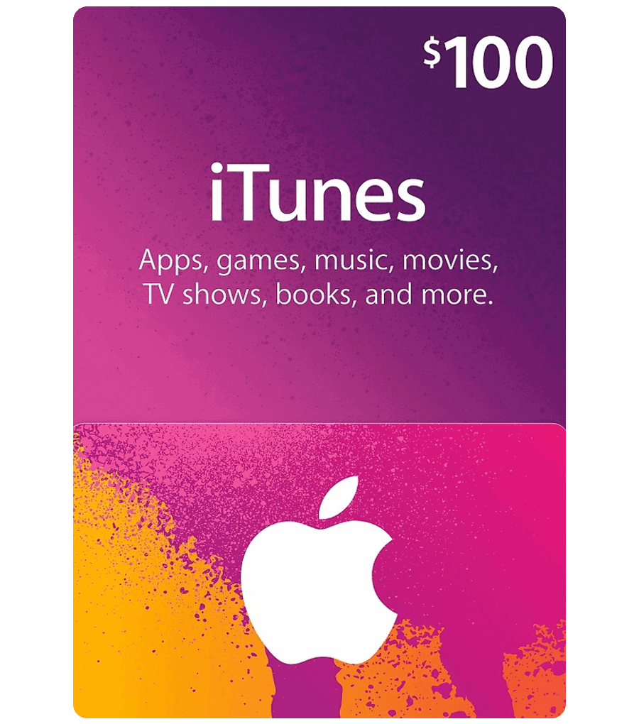 picture relating to Itunes Printable Gift Card named iTunes Reward Card $100 (US) [Electronic mail Transport]