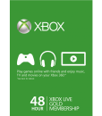 Xbox Live 48 hour gift card