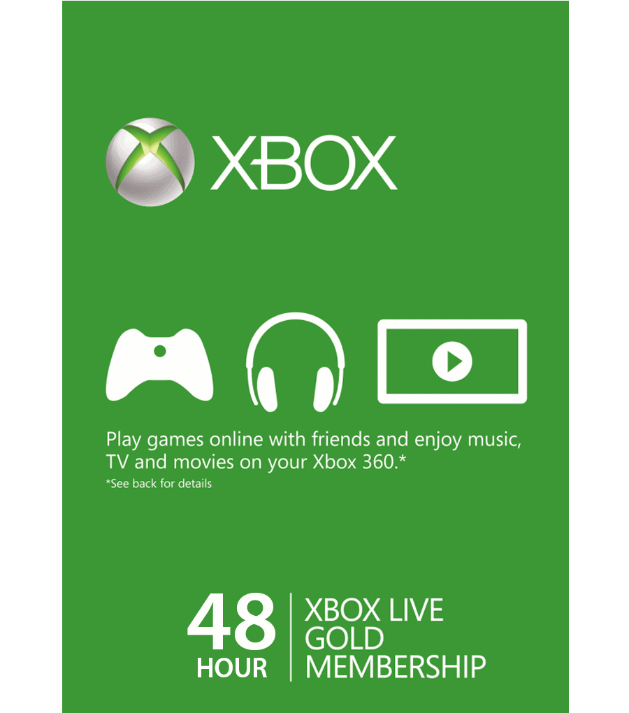 Xbox Live Card 48 Hours (US) [Email Delivery] (Copy)