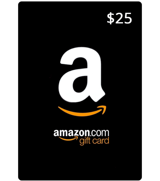 Amazon Gift Card $25 Value
