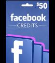 Facebook Gift Card $50 Value