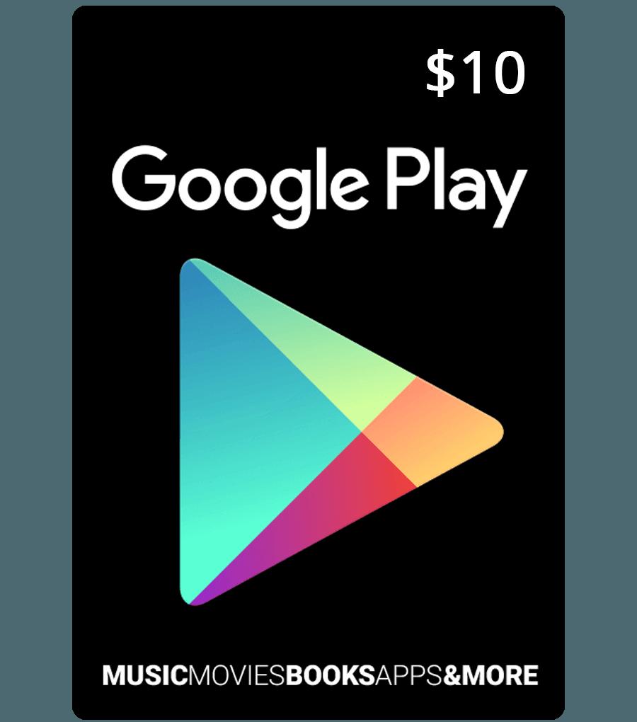 10€ Google Play