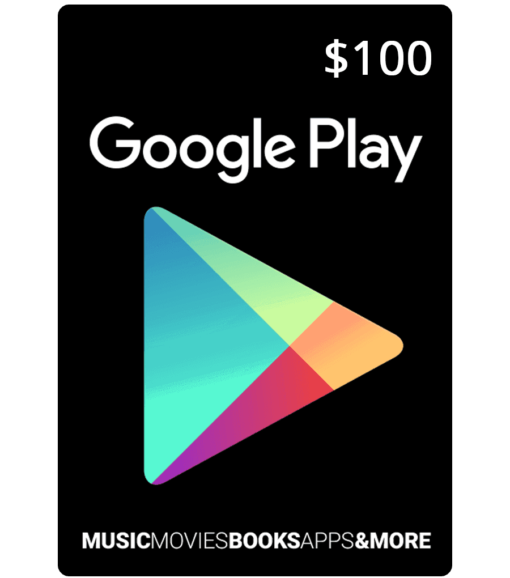 Google Play Card $100 Product Image