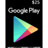 Google Play Card $25 Product Image