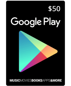 Google Play Card $25 (US) [Email Delivery] - MyGiftCardSupply