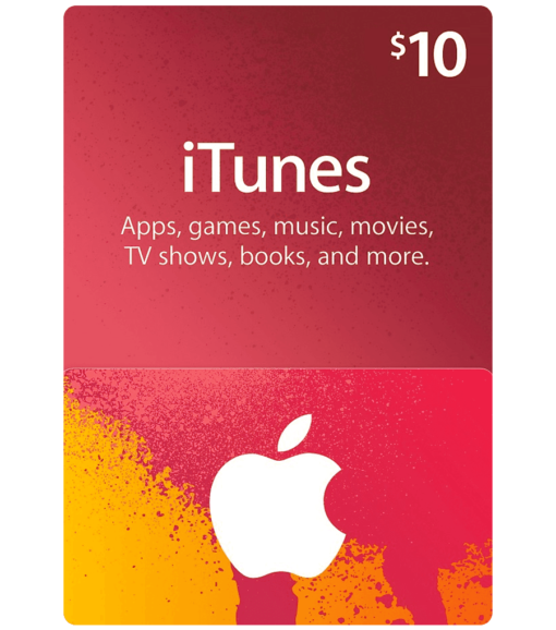 iTunes gift card $10 product image