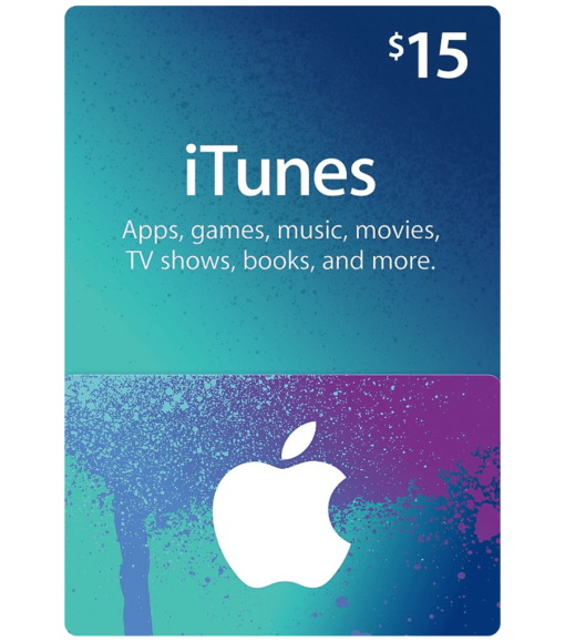iTunes gift card $15 product image