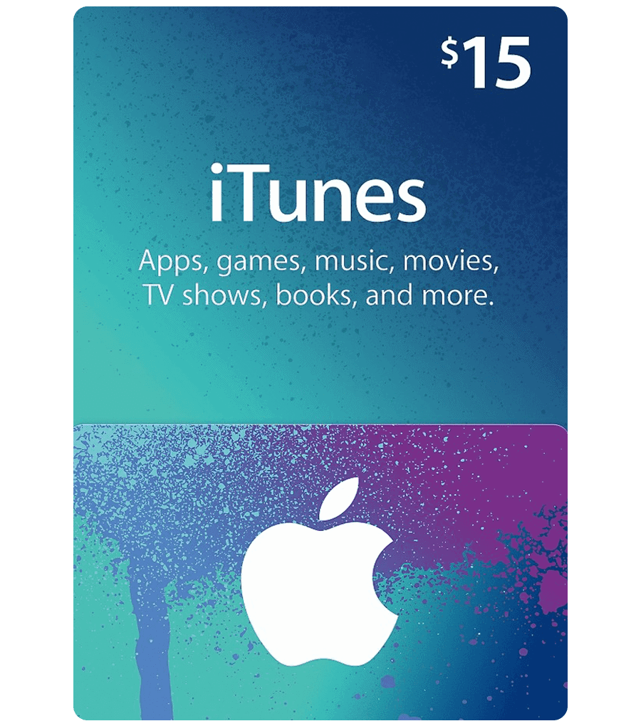 ITunes Gift Card 15 Product Image Email Delivery