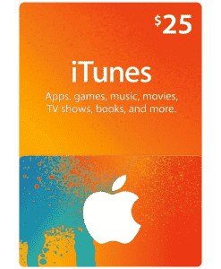 iTunes Gift Card $25 (US) [Email Delivery] - MyGiftCardSupply