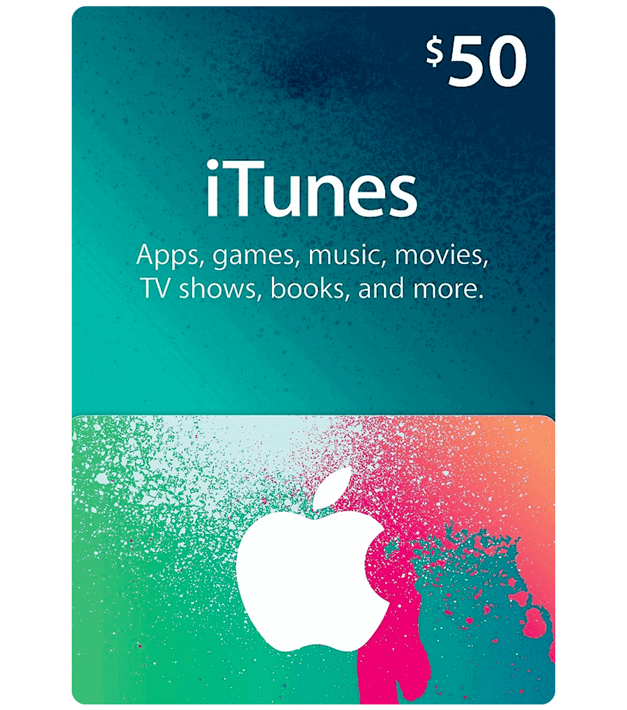 iTunes Gift Card $50 (US) [Email Delivery] - MyGiftCardSupply