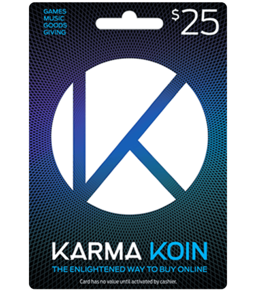 Karma Koin card $25 product image