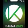 Karma Koin card $50 product image