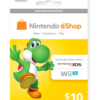 Nintendo eShop Card $10 Image