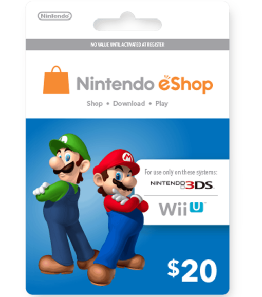 Nintendo eShop Card $20 image