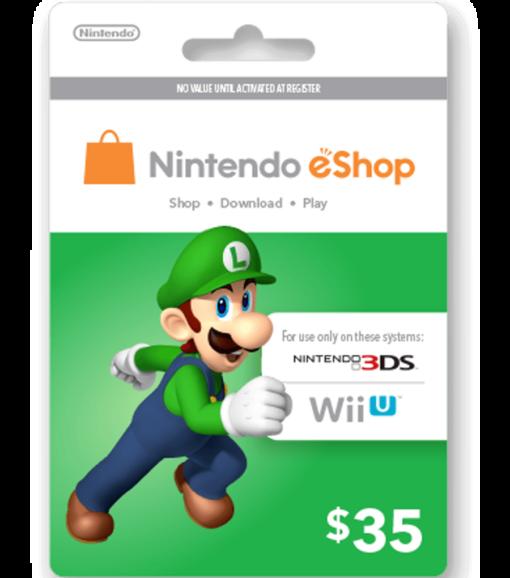 Nintendo eShop Card $35 Image