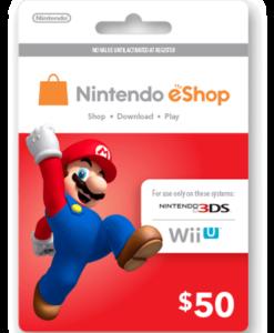 Nintendo eShop Card $50 Image