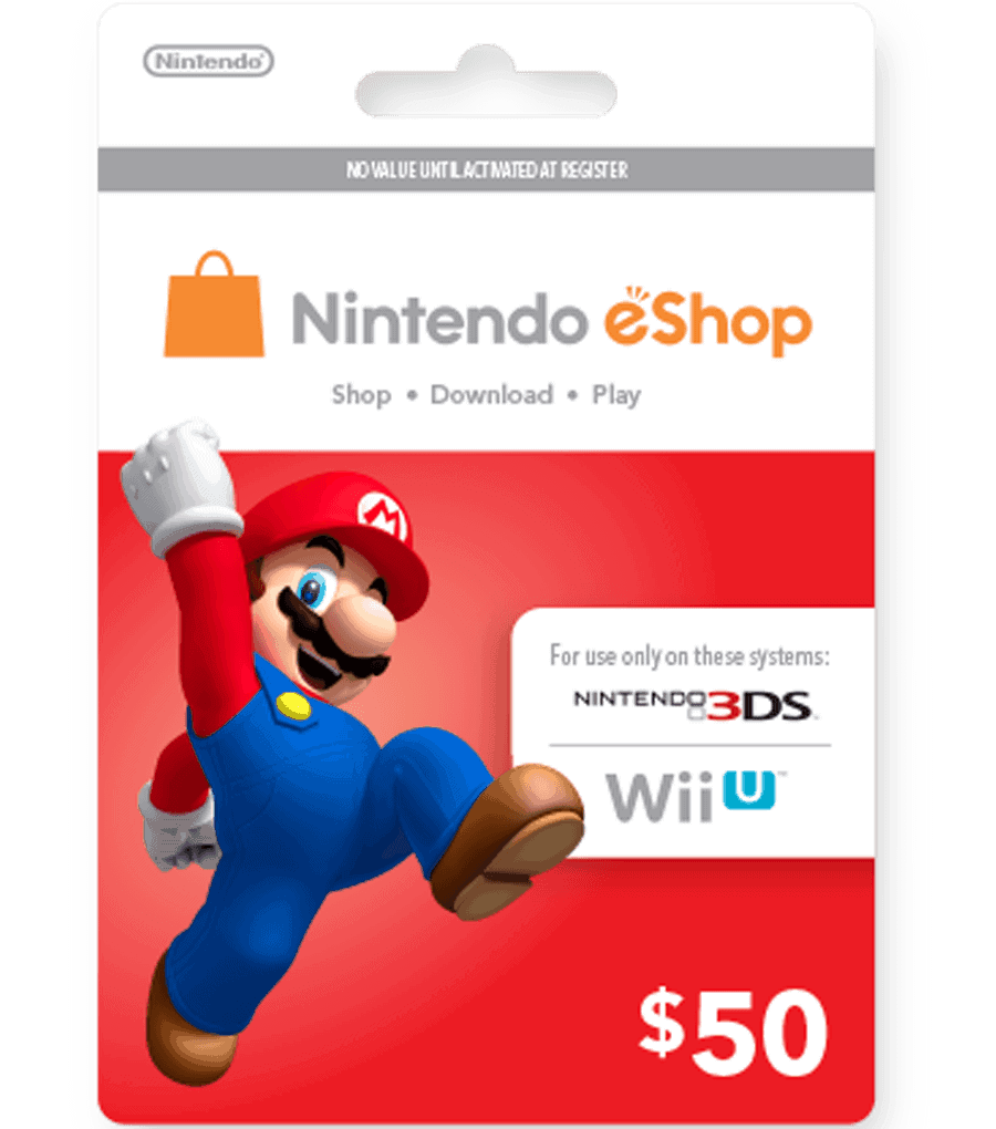 Nintendo eShop Card (US) [Email Delivery] - MyGiftCardSupply