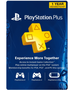 PSN Plus 1 Year subscription product image