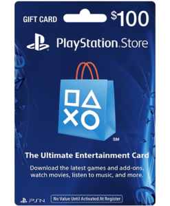 PSN Gift Card $100 Product Image