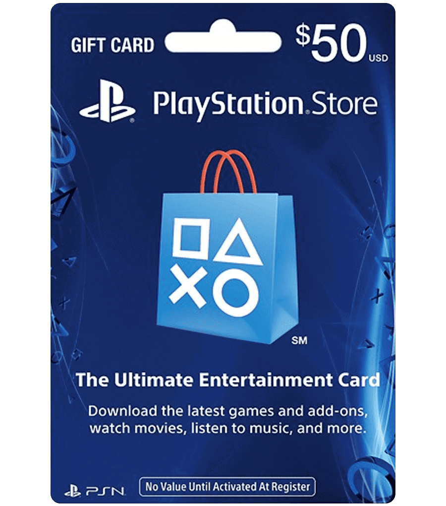 PSN Gift Card $50 Product Image