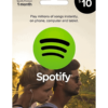 Spotify card $10 product image