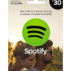 Spotify gift card $30 product image