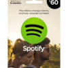 Spotify card $60 product image