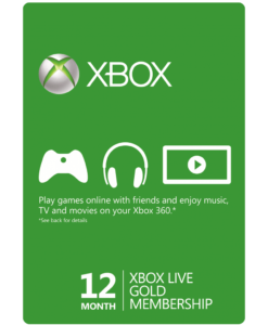 Xbox Live 12 Month Gift Card Product Image