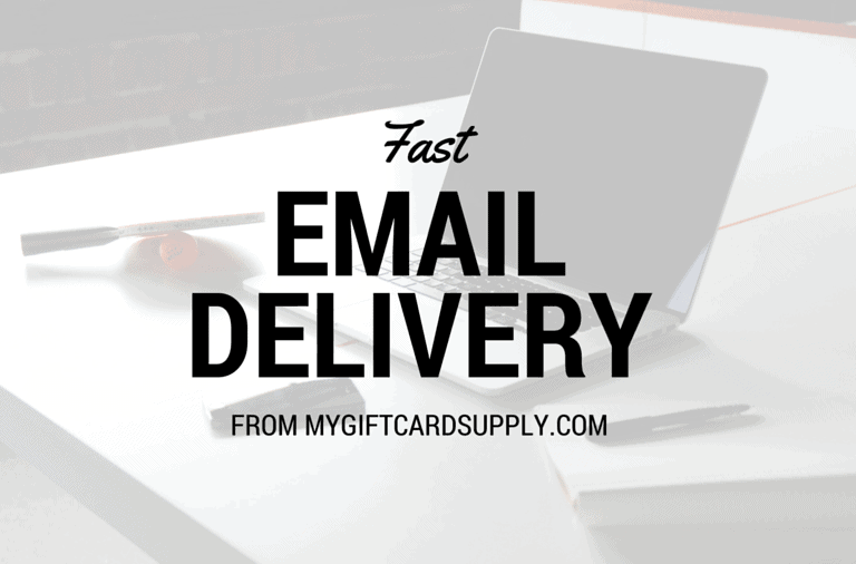 Fast Email Delivery from MyGiftCardSupply