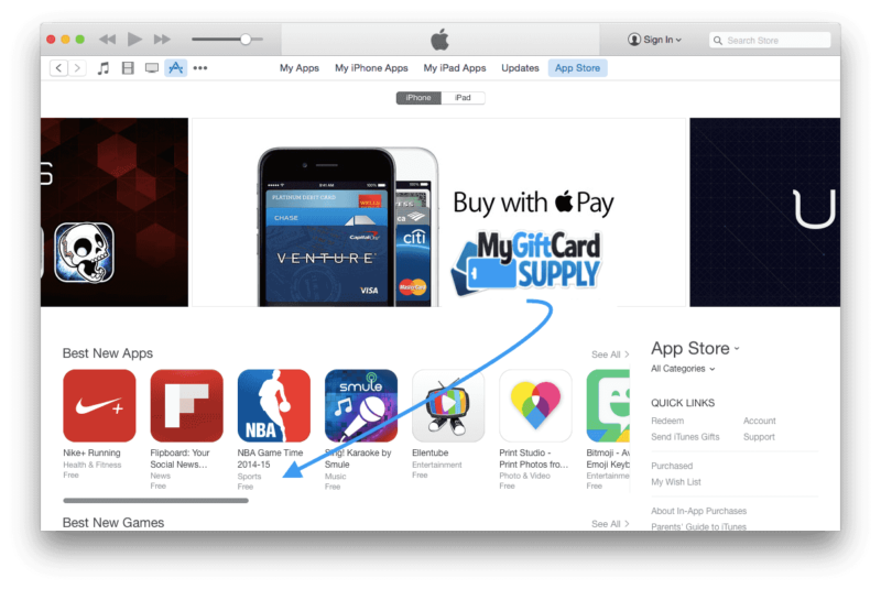 Free US iTunes Account from Anywhere - MyGiftCardSupply