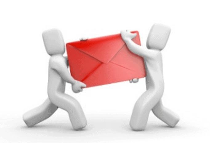 Email delivery illustration