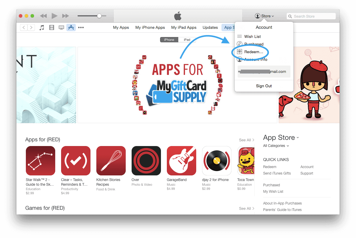 how to redeem itunes gift card on iphone how to redeem your us itunes gift card 20960