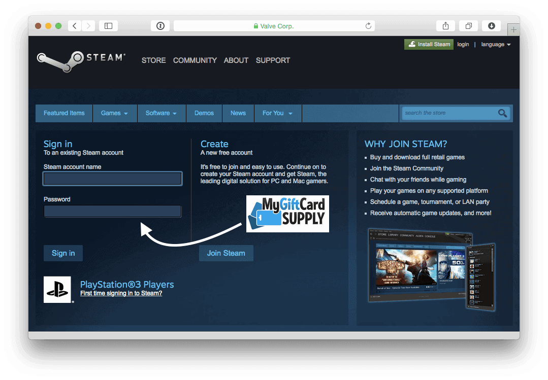 How To Redeem Your Steam Gift Card