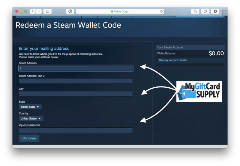 How to Redeem Steam Card Step 6