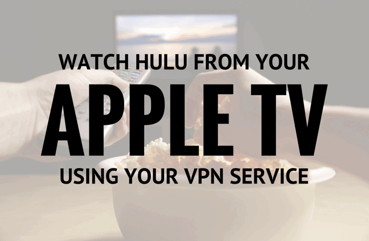 Watch Hulu from your Apple TV header image.