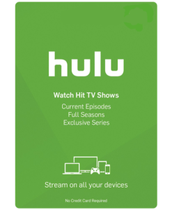 Hulu Gift Card US Product Image