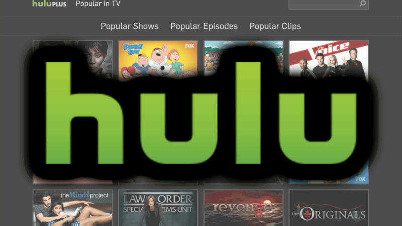 Hulu subscription gift card