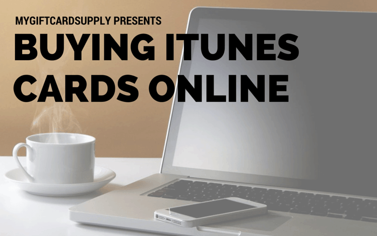Buy your iTunes gift cards online with ease.