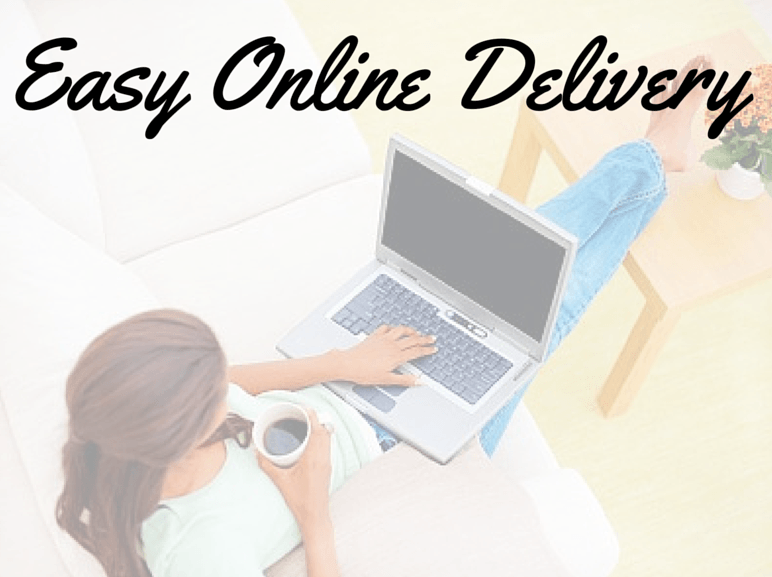 Easy online delivery for all gift cards.