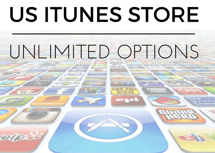 Choose your own adventure with US iTunes store.
