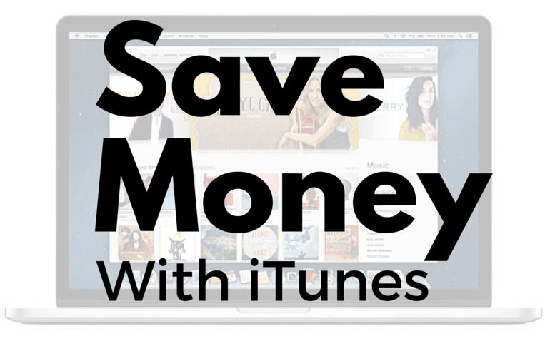 Use iTunes gift cards to save money on music and movies.