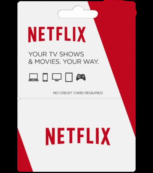 Netflix gift card product image