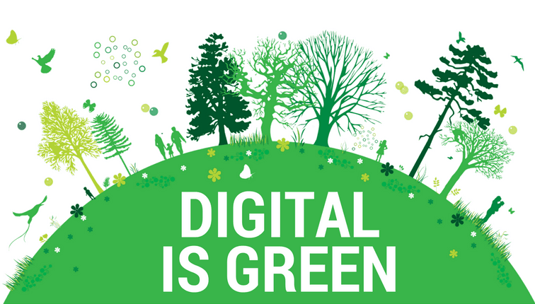 Digital delivery is good for the environment.