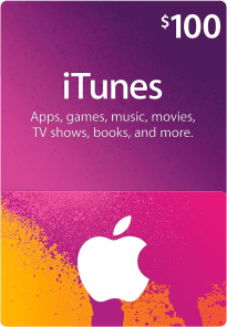US Itunes Gift Card $100