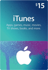 US Itunes Gift Card $15