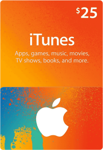 US Itunes Gift Card $25