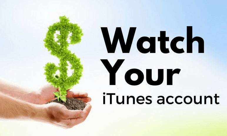 Watch your iTunes account balance