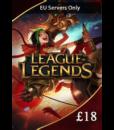 League of Legends £18