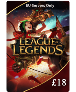 League of Legends £18